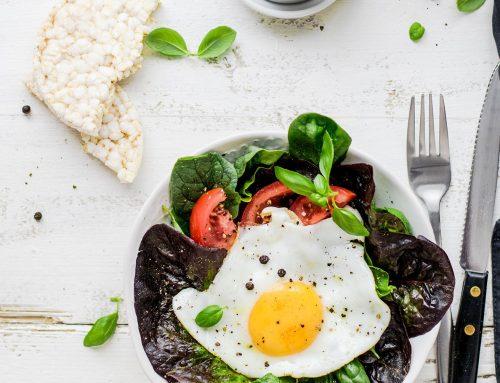 Healthy weekend breakfast brunch